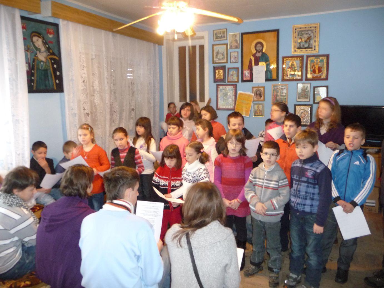 Voluntarii din Ioşia în repetiţie