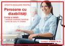 Oferta de locuri de muncă pentru persoane cu dizabilități