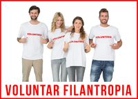 Fii voluntar filantropia