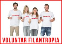 Fii voluntar filantropia