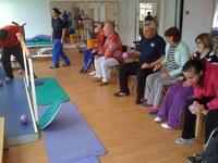 Vizită specială la centrul pentru persoane cu dizabilități