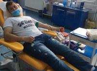 Prima cameră - donare de sânge