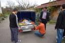 Donația de alimente de la Școala Dacia